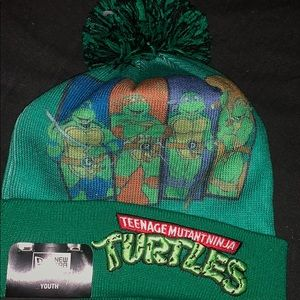 New Era Teenage Mutant Ninja Turtles Knit Hat Pom